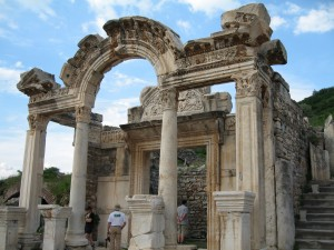 Hadrian Temple {focus_keyword} Turkey Express Circle Tour Ephesus 01