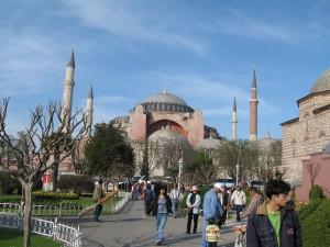 Hagia Sofia Church and Museum Istanbul footsteps of paul tour Footsteps of Paul Tour Turkey Hagia Sofia