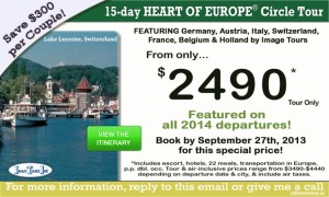 Heart of Europe Tour {focus_keyword} Core of Europe Loop Tour Heart Europe Tour
