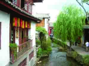Lijiang Canal {focus_keyword} China Classic Tour with Yunnan Fall 2014 Lijiang01