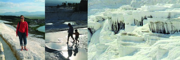 footsteps of paul Footsteps of Paul Tour to Turkey Pamukkale 06