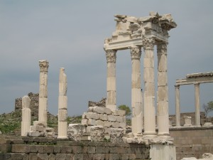 Ruins at Pergamum footsteps of paul tour Footsteps of Paul Tour Turkey Pergamum