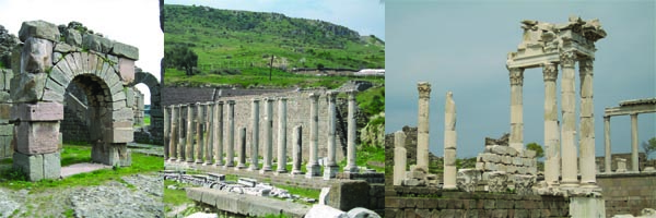 Pergamum seven churches of revelation Seven Churches of Revelation Tour Pergamum1