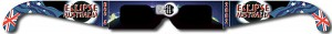 Solar eclipse viewing glasses for safe observation of solar eclipses and sun spots. {focus_keyword} Windjammer Mandalay Nov Specials aussie
