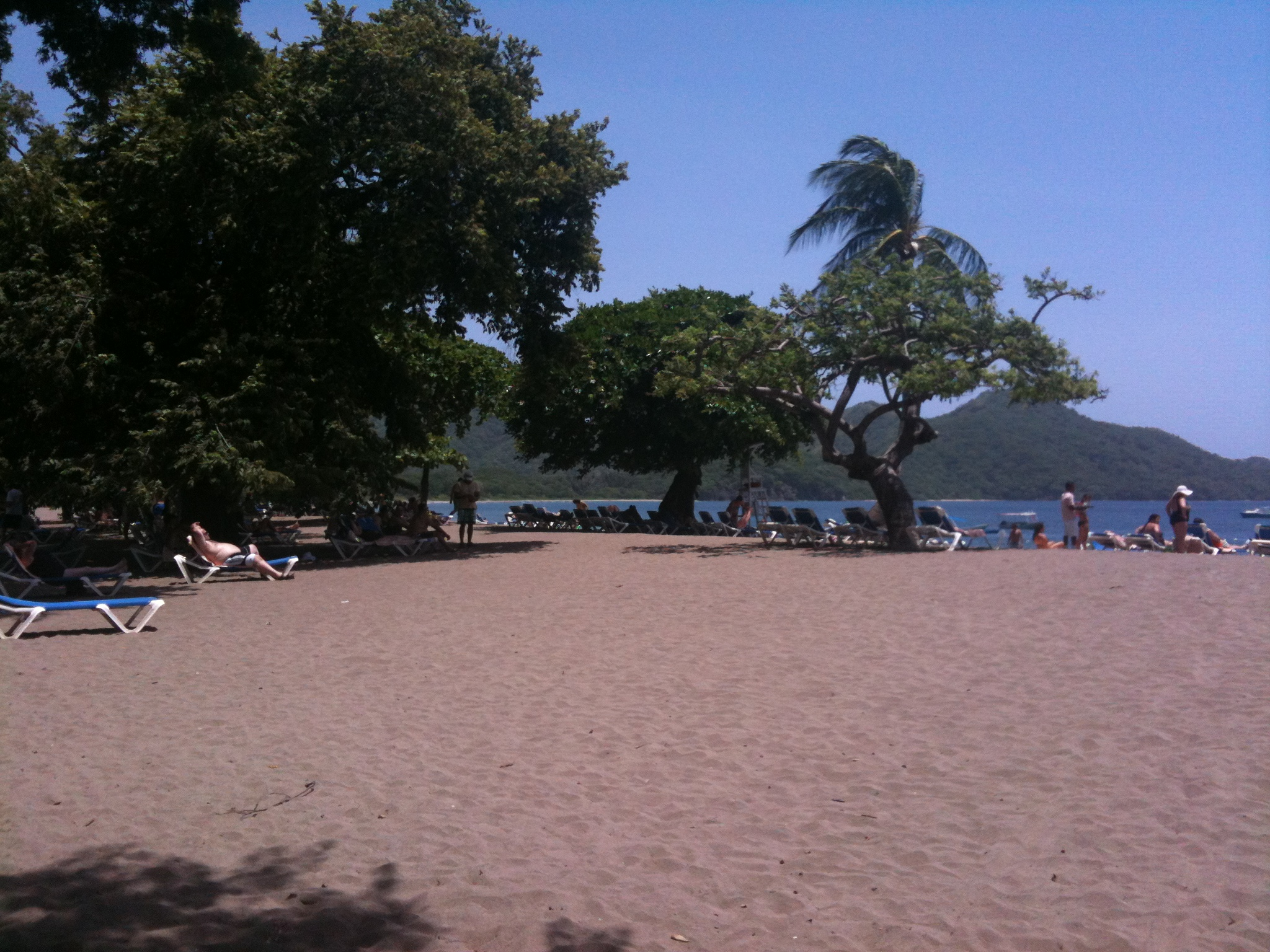 Beach at the Riu's Costa Rica