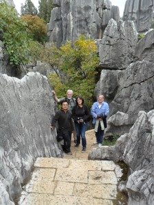 Stone Forest near Kunming, Yunnan, China {focus_keyword} Yunnan, China Special Tour November 2014 SAM 0275