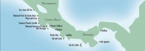 Costa Rica Cruise Map {focus_keyword} Star Clippers Comet ISON Tall Ship Cruise costarica map