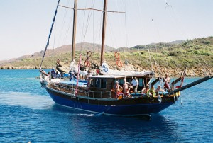 Six Cabin Gulet {focus_keyword} At Anchor Blue Bays of Turkey & Greece 7840067 R1 018 7A