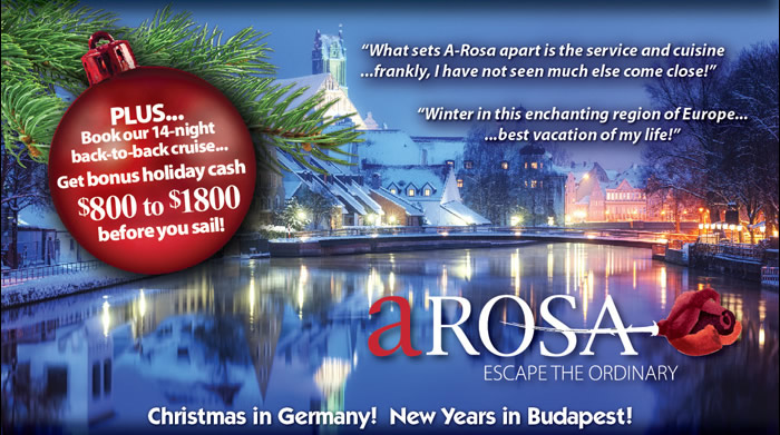 Arosa Holiday European River Cruise