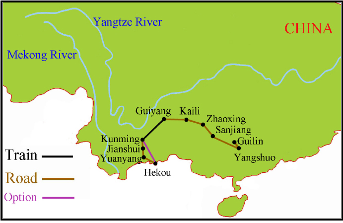 China Ethnic Tour Guilin to Hekou {focus_keyword} Spring 2014 Yunnan China Ethnic Discovery Tours China Ethnic Tour 1