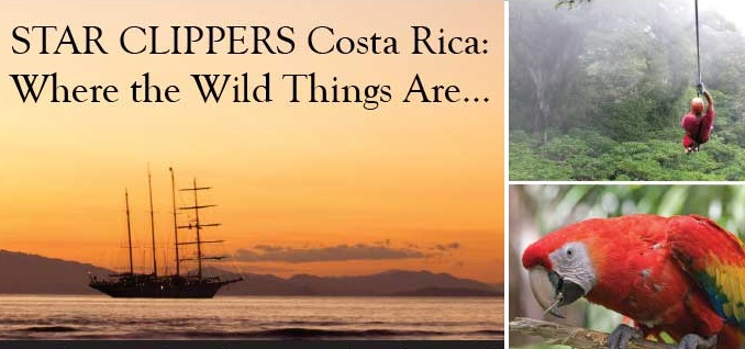 Star Clippers Costa Rica Pacific Ocean Cruise
