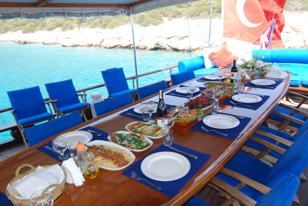 Turkish Cuisine on a Blue Voyage