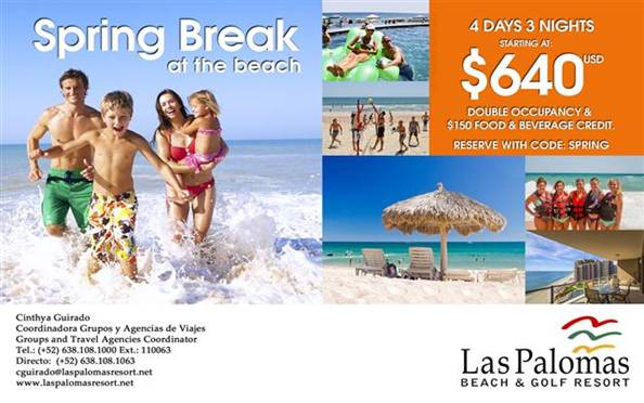 Las Palomas Rocky Point Puerto Penasco Package