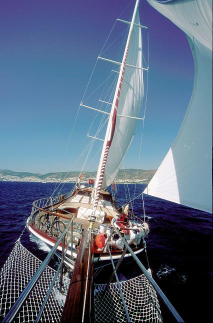 Queen Karia Top Sails {focus_keyword} Queen of Karia Luxury Gulet Yacht Charter from Bodrum, Turkey. queen karia tsails29