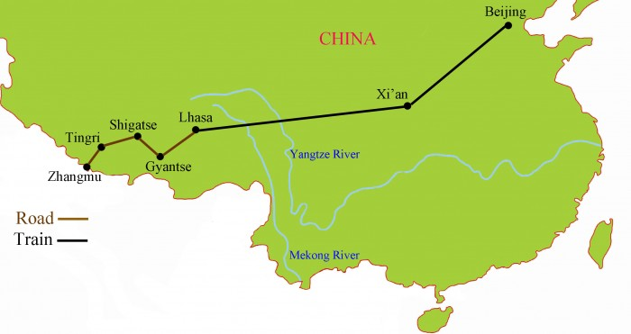 Rail to Tibet Tour {focus_keyword} Beijing - Xian - Rail to Tibet Tour Rail to Tibet Tour