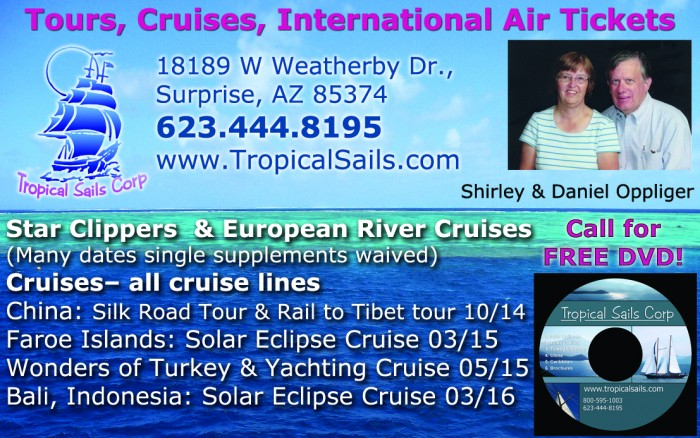 Tropical Sails Corp travel agency in arizona Travel Agency in Arizona Tropical Sails
