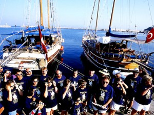 Eclipse 1999 Tour Group {focus_keyword} Turkey Gulet Sailing: Solar Eclipse Trip 1999 Eclipse 1999