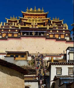 Songzanlin Monastery {focus_keyword} China Classic Tour with Yunnan Fall 2014 Songzanlin