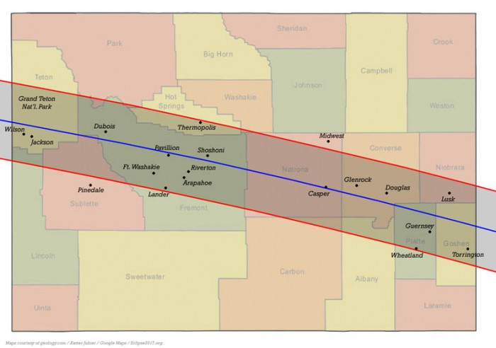 Wyoming Eclipse Path for our Teton Springs Map  the site for our Solar Eclipse Tour 2017 solar eclipse tour 2017 Solar Eclipse Tour 2017 Yellowstone Adventure with Teton Springs Lodge WY web