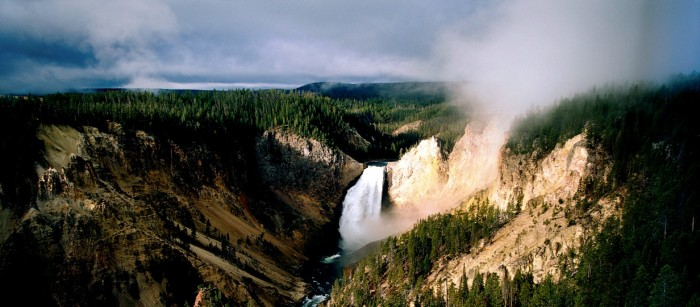 Yellowstone Falls solar eclipse tour 2017 Solar Eclipse Tour 2017 Yellowstone Adventure with Teton Springs Lodge yellowstone grand canyon