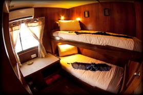 Twin Cabin with Bunks {focus_keyword} Bali Indonesia Solar Eclipse Cruise March 3-16 2016 image012