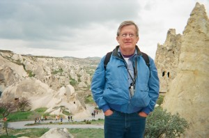 Dan in Cappadocia on Footsteps of Paul Tour footsteps of paul Footsteps of Paul Tour with Sailing Cruise footsteps of paul 12
