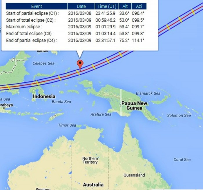 Solar Eclipse Path 2016 indonesia solar eclipse cruise 2016 Indonesia Solar Eclipse Cruise 2016 Solar Eclipse Path 2016