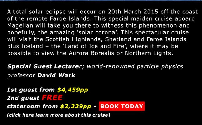 Solar Eclipse 2015 Cruise Special solar eclipse cruise Solar Eclipse Cruise 2015 From London Solar Eclipse 2015 Cruise Special