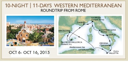 Cruise from Rome