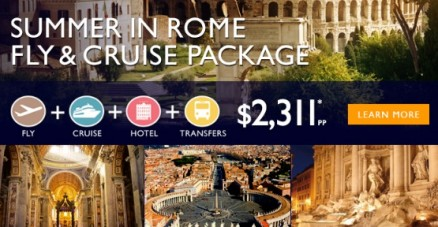 Divina Cruise from Rome