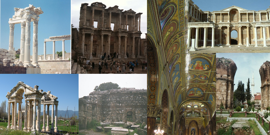 Seven Churches of Revelation seven churches of revelation Seven Churches of Revelation Sailing Cruise Turkey & Greece Seven Churches of Revelation