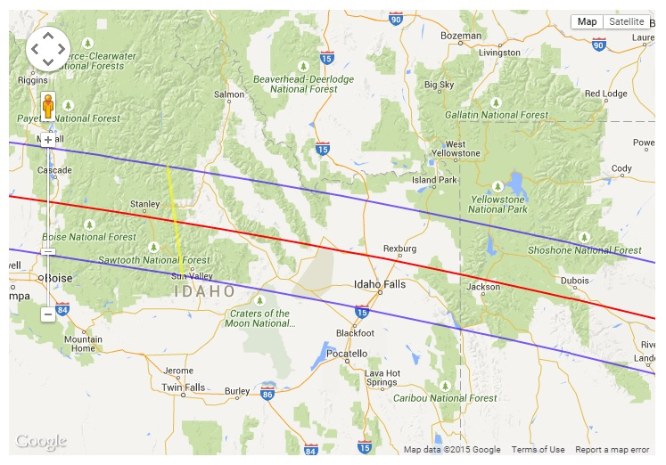 Idaho Solar Eclipse 2017 Tour solar eclipse 2017 tour Salt Lake City-Idaho Solar Eclipse 2017 Tour Package: 3 Nights Idaho Solar Eclipse 2017 Tour