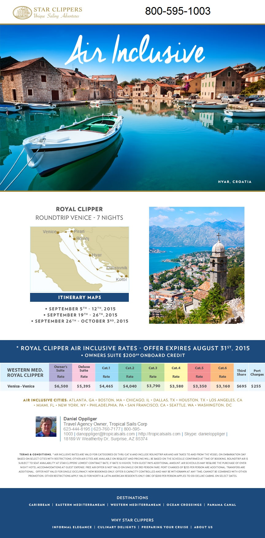 Royal Clipper Venice Sicily Cruise Package cruise packages Star Clippers European Cruise Packages royal clipper venice sicily cruise package