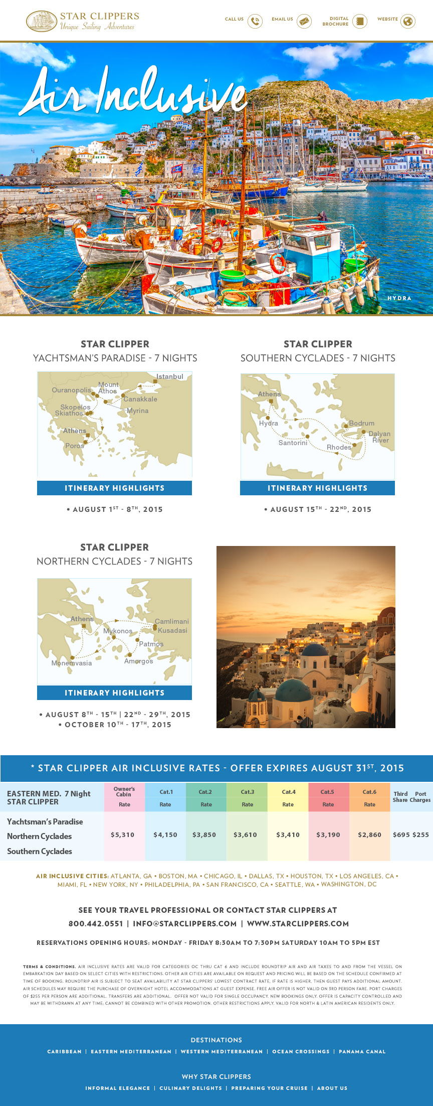 Star Cippers Cruise Packages cruise packages Star Clippers European Cruise Packages star clippers cruise packages 23
