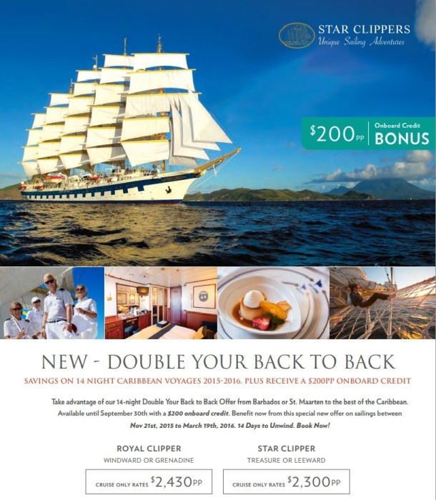 Star Clippers Caribbean Cruises Winter Specials caribbean cruise Star Clippers Caribbean Cruises Winter Savings Star Clippers Caribbean Cruises Winter Specials