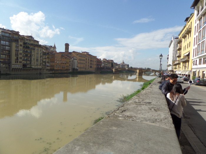 Rub the Boar's Nose walking tour in florence Our Walking Tour in Florence with My Tours Arno River View