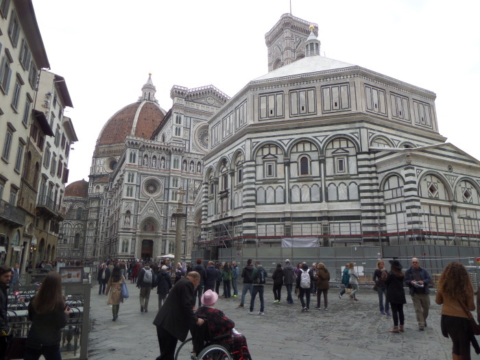 Baptistery in Florence walking tour in florence Our Walking Tour in Florence with My Tours Baptistry Florence