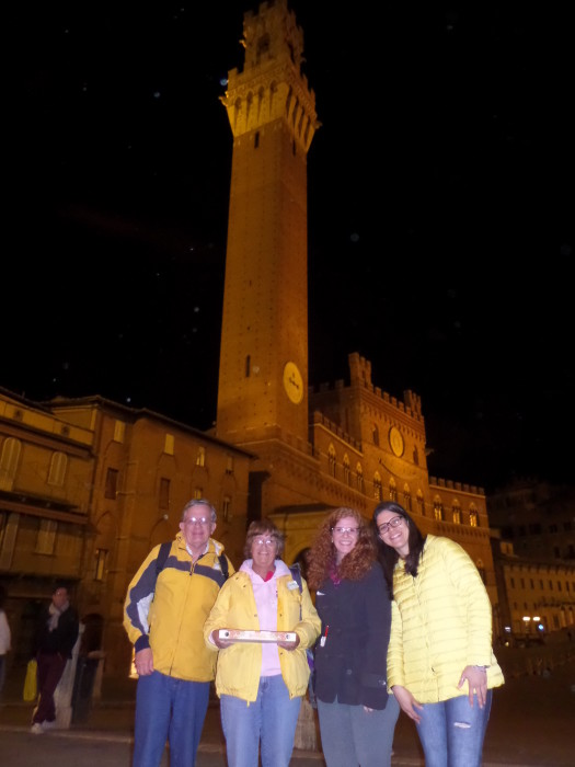 Dinner on the Square in Siena Tour of Siena Tour of Siena Tuscany Italy Dinner in Siena