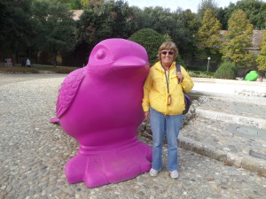 Shirley and The Viking Bird Tour of Siena Tour of Siena Tuscany Italy Viking Bird