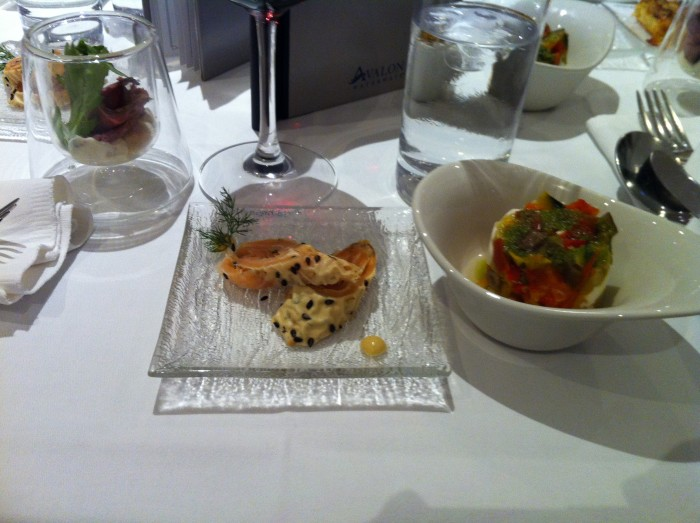 Avalon Appetizer avalon river cruises food Avalon River Cruises Food and Dining Avalon Appetizer