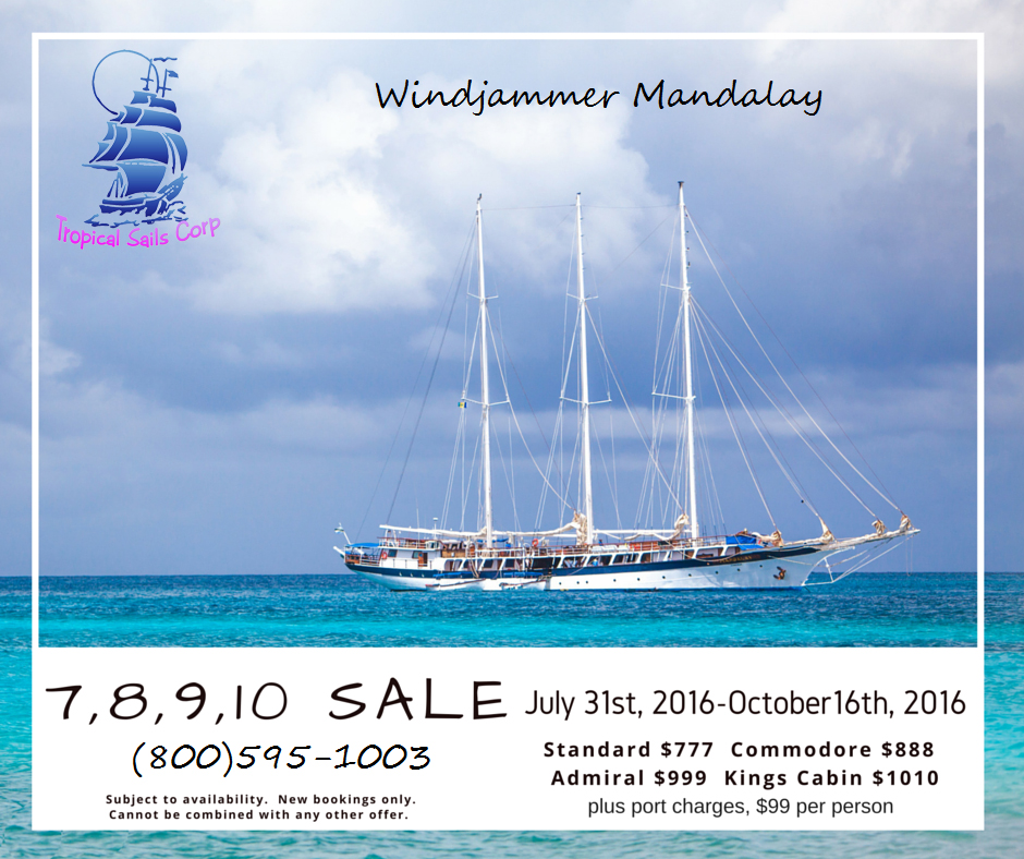 Mandalay Summer Caribbean Cruise Sale From Grenada
