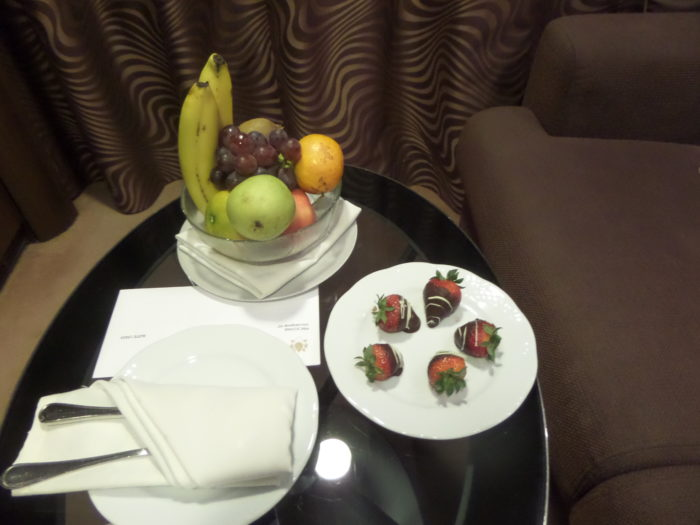 Nighttime Treal divina yacht club MSC Divina Yacht Club Experience Divina Yacht Club Strawberries
