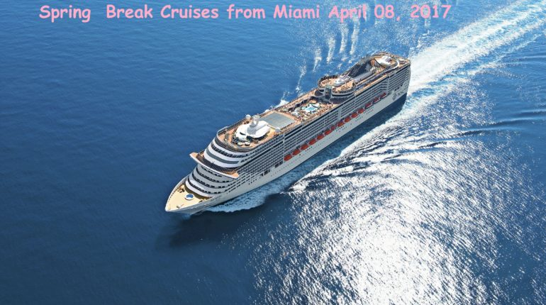 Spring Break Caribbean Cruise