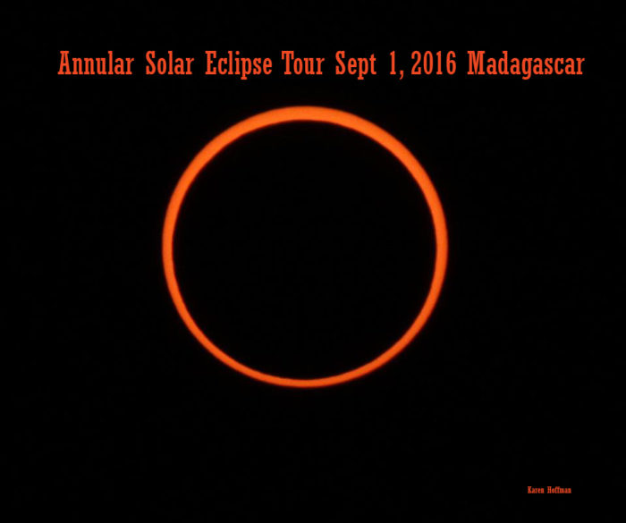 Annular Solar Eclipse Tour 2016 Madagascar solar eclipse tour 2016 Travel to Madagascar for an Annular Solar Eclipse Tour Aug-Sept 2016 Annular Solar Eclipse Tour 2016 Madagascar