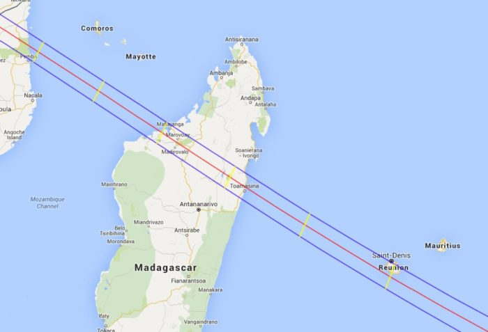 Annular Solar Eclipse Tour 2016 Madagascar Map solar eclipse tour 2016 Travel to Madagascar for an Annular Solar Eclipse Tour Aug-Sept 2016 Annular Solar Eclipse Tour 2016 Madagascar Map