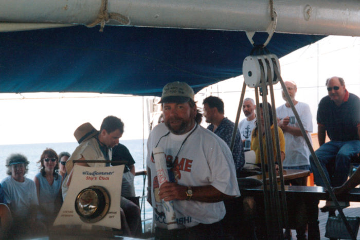Captain Neil Carmichael 1998 solar eclipse cruise 1998 Solar Eclipse Cruise Windjammer S/V Polynesia Capt Neil