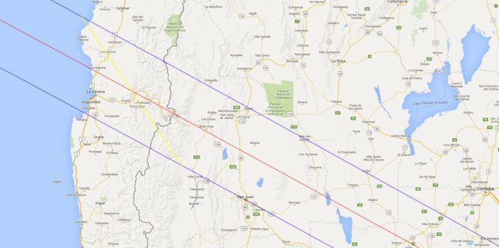Chile Solar Eclipse 2019 Map 2019 solar eclipse tour Chile 2019 Solar Eclipse Tour - Santiago, Atacama Desert & La Serena Chile Solar Eclipse 2019 Map