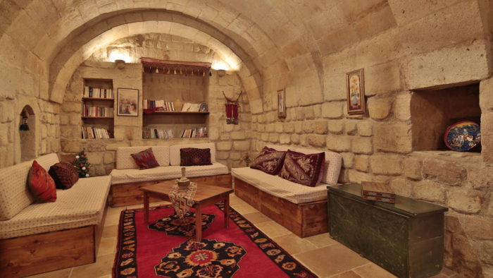 Heaven Cave House Living Room cappadocia cave hotel Heaven Cave House Cappadocia Cave Hotel Heaven Cave House Living Room