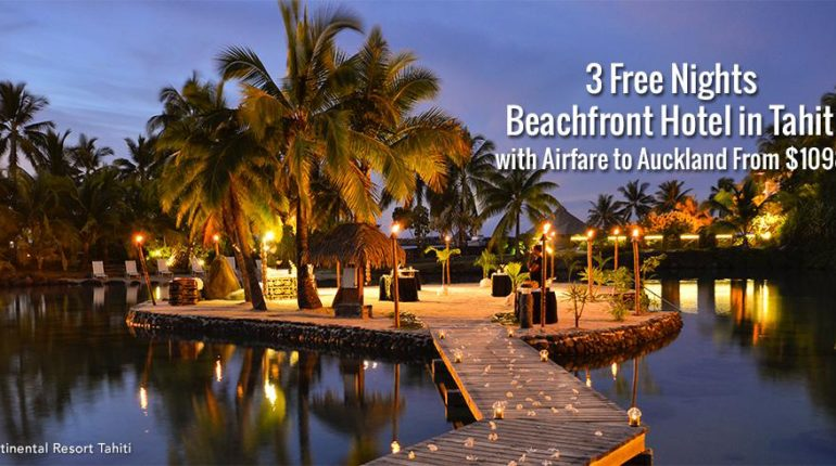 Tahiti Flight Deals