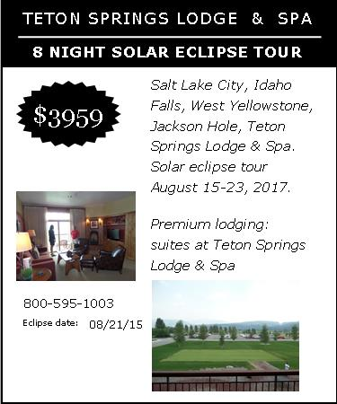 Teton Springs 2017 Solar Eclipse Tour solar eclipse travel Solar Eclipse Travel USA 2017 & Chile Eclipse Tours 2019, 2020 Teton Springs 2017 Solar eclipse tour